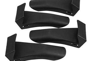 KSTE 4Pcs Reifenmontiermaschine Klemmenabdeckkörper Schutzbacken Schutz Schutzabdeckungen (Biegewinkel)